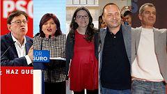 Los candidatos nacionales pasan por la campaña valenciana