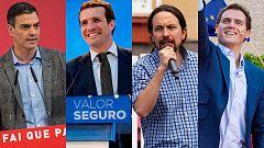 Los candidatos se encierra para preparar el debate a cuatro de RTVE