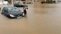 El temporal deja lluvias torrenciales en Alicante