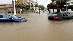Precipitaciones persistentes en Cataluña y la Comunidad Valenciana