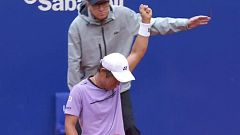 Tenis - ATP 500 'Trofeo Conde de Godó': Yoshihito Nishioka - Diego Schwartzman