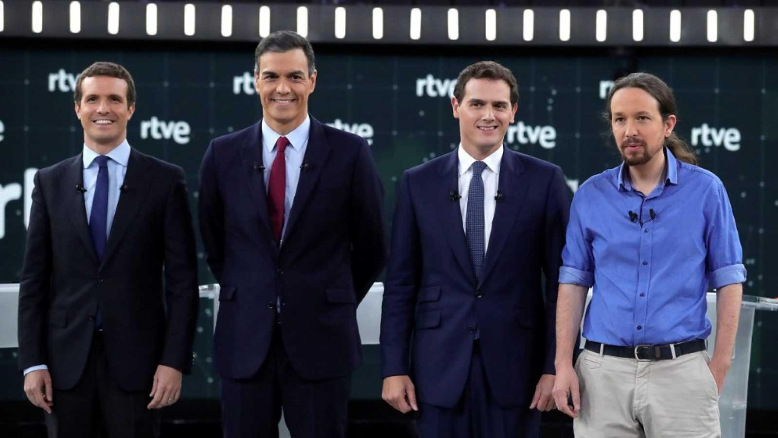 Especial informativo - Debate a cuatro - ver ahora