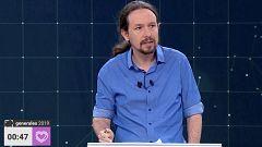 """Pablo Iglesias: """"Discutamos las propuestas que tenemos sin insultos y sin monólogos"""""""
