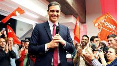 """Sánchez, tras el debate de RTVE: """"Esto cada día pinta mejor"""""""