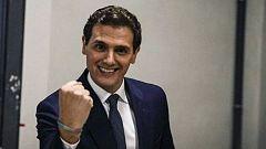 """Rivera, tras el debate de RTVE: """"El 28 va a llegar el color naranja a La Moncloa"""""""