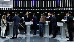 Verificación: los cuatro candidatos del debate de RTVE, desmentidos por los verificadores