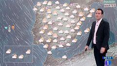 Lluvias y chubascos en casi toda España por un frente atlántico