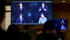 Los posibles pactos postelectorales, muy presentes en el debate de RTVE