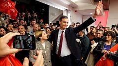 Los cuatro partidos se dicen satisfechos de la actuación de sus candidatos en el debate de RTVE