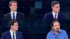 El equipo de verificación de RTVE desvela las afirmaciones falsas de los candidatos durante el debate