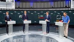 Los expertos analizan el lenguaje no verbal de los candidatos durante el debate