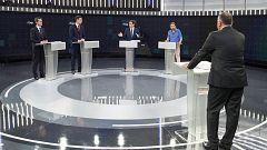 El debate de RTVE, lo más visto después de la Copa del Rey