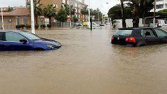 El temporal remite pero deja importantes destrozos en Jávea