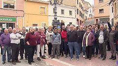 Urnas vacías en protesta por el abandono de sus pueblos en Moratalla, Murcia