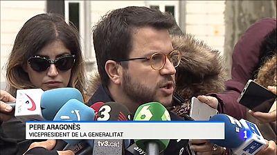 Aragonès no declara perquè el seu processament no està del tot arxivat