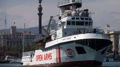 El 'Open Arms' vuelve al Mediterráneo