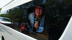 México frena las caravanas de migrantes