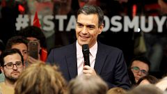 Valoraciones de los cuatro candidatos a la Presidencia del Gobierno tras el segundo debate electoral