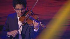 La exquisita actuación de Jaime y su violín en la final