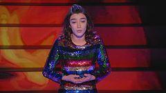 Lucía deja su voz en lo más alto del auditorio junto a Ainhoa Arteta