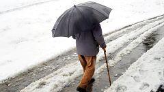 Más de 30 provincias españolas, en aviso amarillo por nieve, lluvia o viento