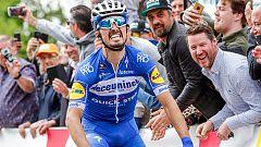 Alaphilippe revalida triunfo en la Flecha Valona con Valverde undécimo