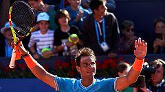 Nadal sufre pero remonta a Mayer en su debut en el Godó