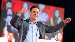 """Sánchez llama a """"llenar las urnas"""" el próximo 28 de abril"""