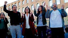 """Iglesias pide el voto en Cataluña para garantizar """"el diálogo"""" frente a """"la cárcel y los jueces"""""""