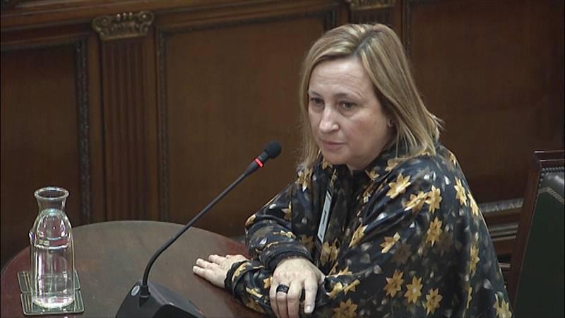 La alcaldesa de Sant Vicenç dels Horts declara que los Mossos impidieron a Junqueras votar en un primer colegio