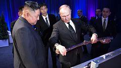 Putin recibe a Kim Jong-un en Vladivostok