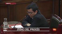 Marchena a Salellas: la declaracio d'un testimoni és un insult al tribunal