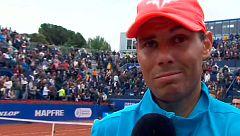 """Nadal: """"Ferrer está para seguir jugando"""""""