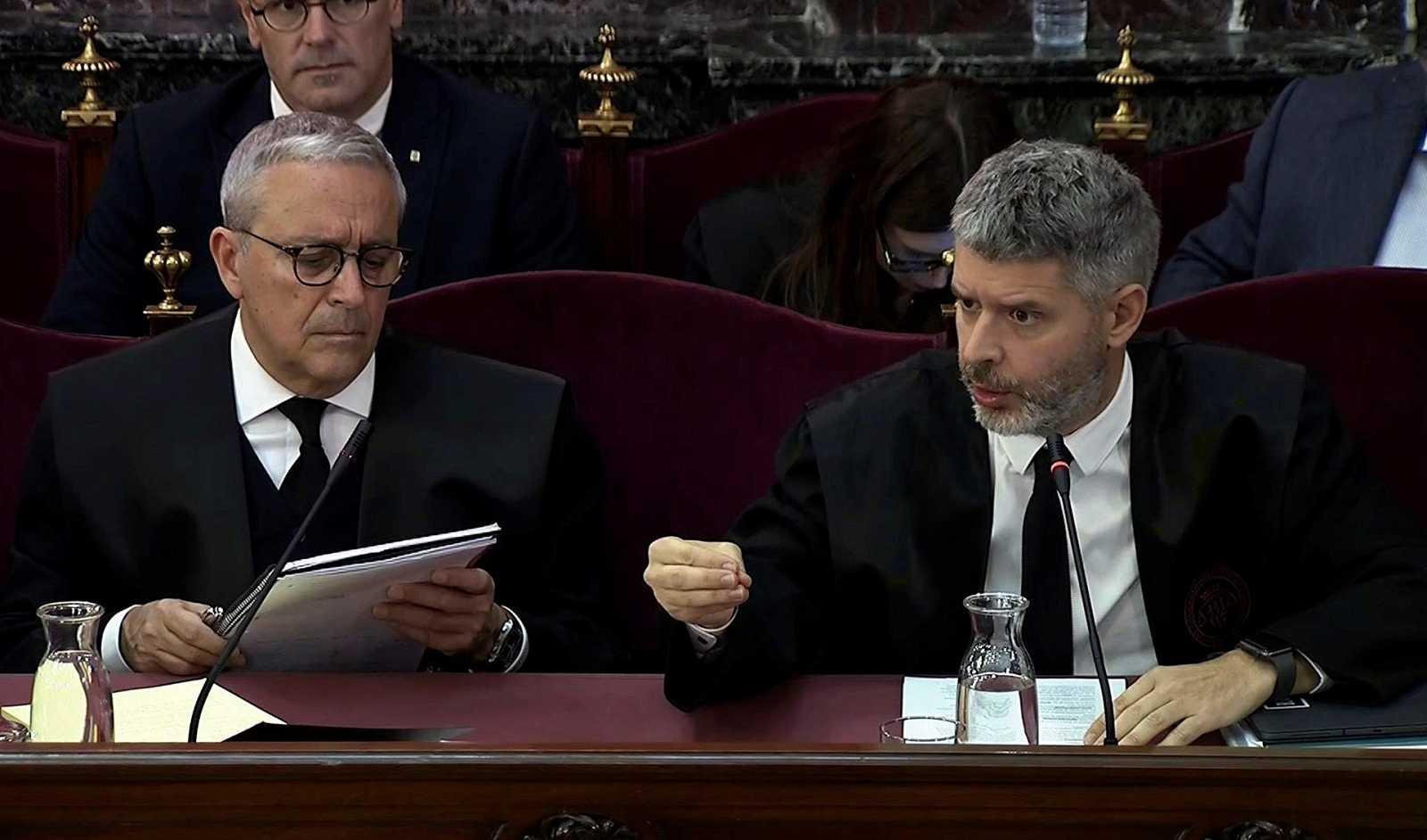 """Los testigos propuestos por Junqueras describen protestas """"pacíficas"""" y de """"ambiente festivo"""""""