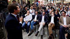 Los candidatos apuran sus últimos mítines de campaña para ganarse a los indecisos