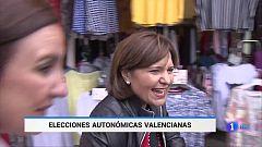 Los candidatos a la Generalitat valenciana apuran las últimas horas de campaña