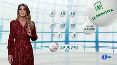 Lotería Nacional + La Primitiva + Bonoloto - 25/04/19