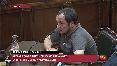 David Fernandez s'inculpa de desobeir el Tribunal Constitucional
