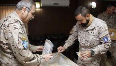 Votan los 2500 militares españoles que participan en misiones en el exterior