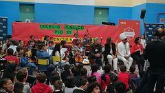 """Carlinhos Brown visita a la """"orquesta milagro"""" de Tetuán"""