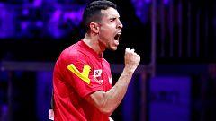 Álvaro Robles asegura la primera medalla española en un mundial de tenis de mesa
