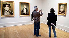 El Museo de Bellas Artes de Bilbao expone tres retratos de Goya salvados durante la Guerra Civil