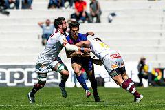El Sanitas Alcobendas logra su primera Copa del Rey de manera agónica ante el Barça Rugbi (24-23)