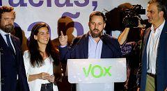 """Santiago Abascal: """"Os dijimos que iniciábamos una reconquista y lo hemos hecho"""""""