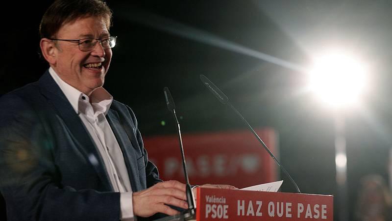 El PSOE gana las autonómicas en la Comunidad Valenciana y podrá gobernar reeditando el 'pacto del Botánico'