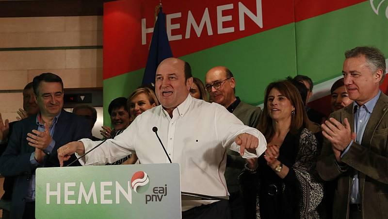 PNV y el resto de partidos minoritarios pueden resultar claves en la formación de un gobierno