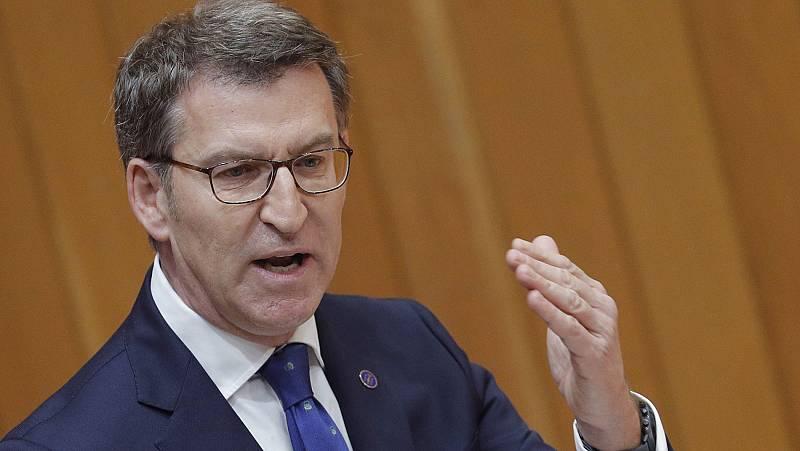 """Feijóo reclama """"ensanchar"""" el PP abriéndose a más sensibilidades para recuperarse de los resultados en las generales"""