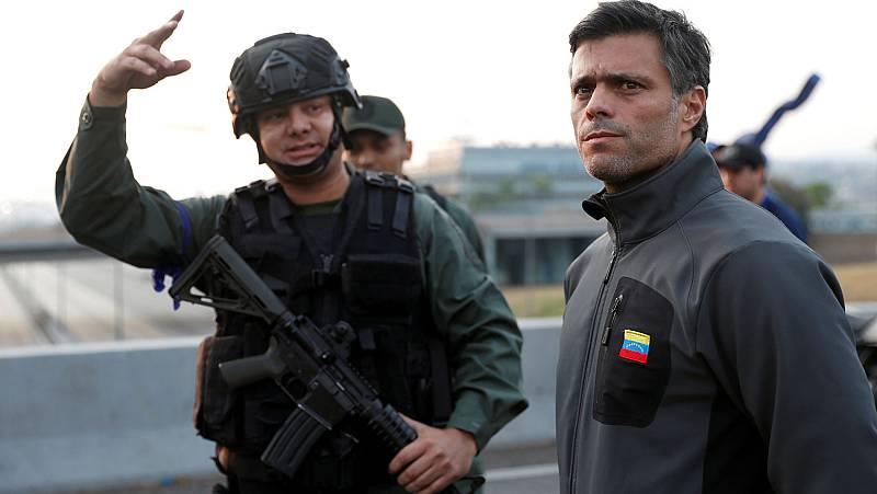 """Leopoldo López llama a """"salir a la calle"""" a todos los venezolanos"""