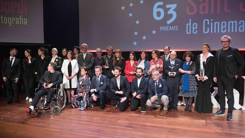 Vídeo de L'Informatiu sobre el lliurament de Premis Sant Jordi de Cinematografia de RNE