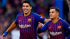 Suárez y Coutinho quieren amargar la semis al Liverpool